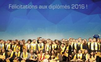 Cérémonie des diplômes 2016