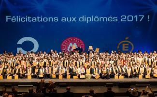 Remise des diplômes promo 2017