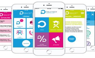 Application mobile de Polytech Montpellier